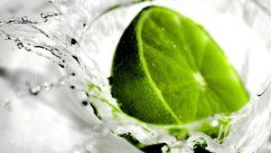 food-citrus-fruits-lime-water-splash-droplets-green-1920x1080